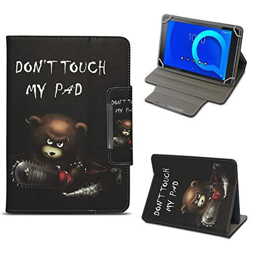 NAUC Tablet Tasche für Alcatel 1T 10 Hülle Schutzhülle Hülle Schutz Cover 10.1 Zoll, Farben:Motiv 11