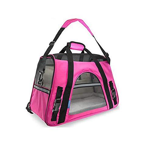 Katze Hund Auto Reisetasche, Flugtasche Reisetasche Für Hund Katze Kleintiere Hund Aus Auto Carrier - Hund Katze Tasche - Portable Pet Bag 48 * 25 * 33CM,C3