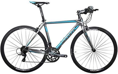 Hombres Mujeres aluminio ligero de la bicicleta de carretera, bicicleta de carretera for adultos, Bicicleta de carreras, deportes al aire libre Ciclismo Trabajar el cuerpo Viaje y los desplazamientos