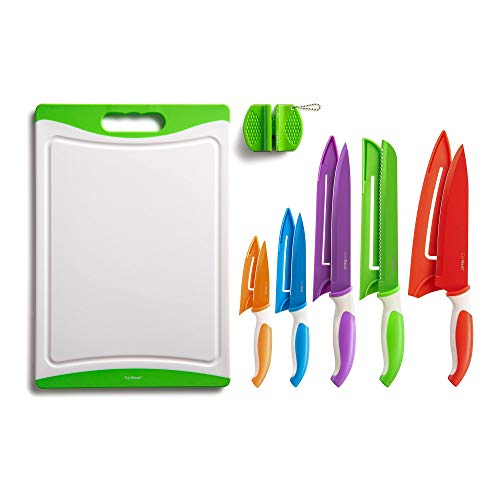 EatNeat 12-Piece Colorful Kitchen K…