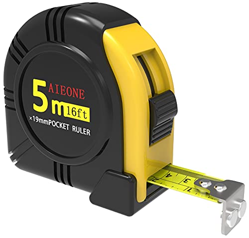 Tape Measure Retractable Metric and Imperial 10ft...