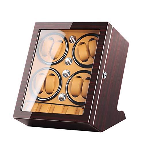 LSRRYD Relojes Cajas Giratorias Caja Giratoria para Relojes Caja Enrollador Reloj para 8 Relojes Automáticos 5 Vitrina Almacenamiento Reloj Pulsera Estuche Almacenamiento para Relojes Exhibición