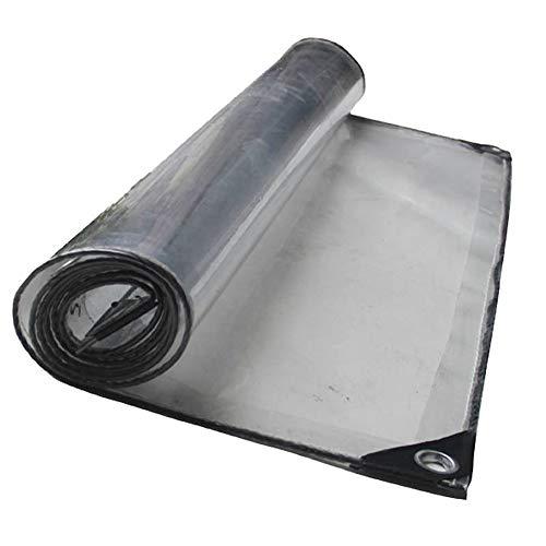 NEVY-LONA PVC transparant zeildoek, waterbestendig, vegetal vloerbedekking, isolatie, zonwering, ramen, afdekzeil, waterdicht 1.13x2m