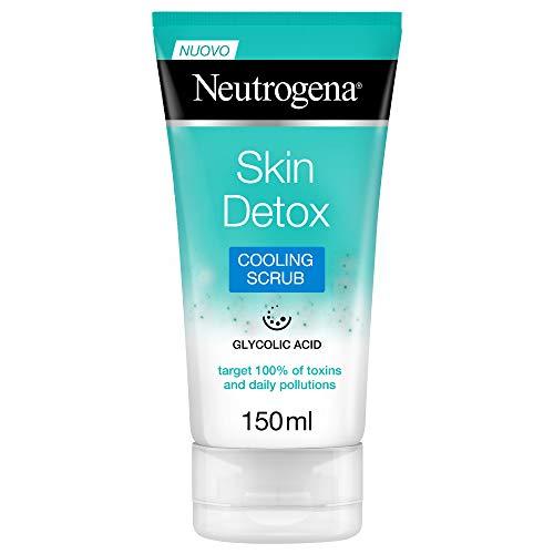 Neutrogena Esfoliante Viso, Skin Detox, Azione Rinfrescante, 150 ml