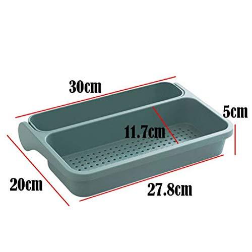 MXH Verstelbaar spoelproces afvoerkeuken badkamer wasmachine wateropslag opslag rek filtermand