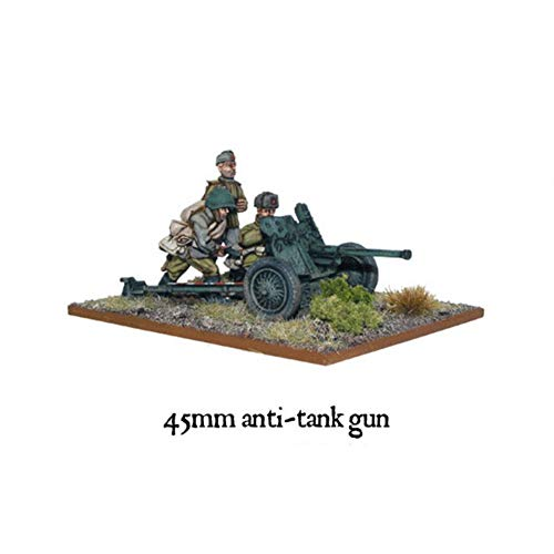 Bolt Action Soviet 45mm Anti Tank Gun