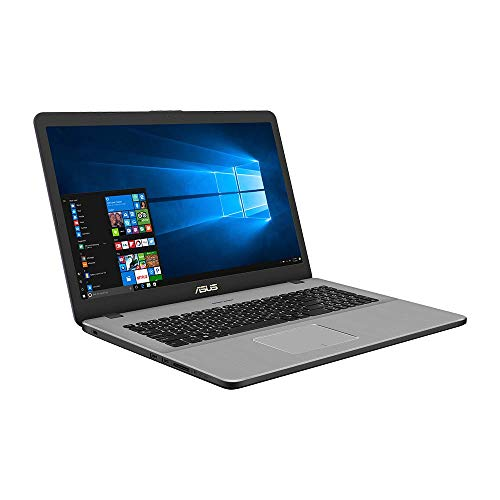 Asus VivoBook Pro 17 N705UN 90NB0GV1-M01430 43,9 cm (17,3 Zoll Full HD Matt) Notebook (Intel Core i5-8250U, 8GB RAM, 256GB SSD, 1TB HDD, NVIDIA MX150 2GB, Win 10) grey metal