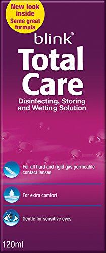 Total Care Care Products-gas perméable et objectif dur la désinfection et de solution humidité 120 ml