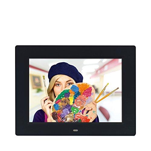 """Rollei Degas DPF-900 - Digitaler Multi-Media Bilderrahmen mit 9.7"""" (24,6 cm) TFT-LED Panel, Bild-, Video-, Musik-, Kalender- und Uhrfunktion, Diashow, inkl. Fernbedienung - Schwarz"""