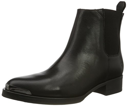 Liebeskind Berlin Damen LF175020 Nappa Chelsea Boots, Schwarz (Nairobi Black), 41 EU