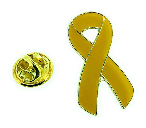 Gemelolandia Pin de Solapa Yellow Ribbon-Lazo Amarillo