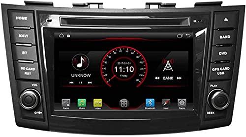 WJYCGFKJ 7 Pulgadas en el Tablero Android 10 Reproductor de DVD para automóvil Unidad Principal de Radio Navegación GPS Estéreo para Suzuki Swift 2011-2017 Suzuki Ertiga 2012-2017 Soporte Bluetooth S