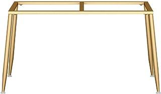 ZH-1 Pieds de Table de Hauteur 72cm, Armature de Table en métal, Pied Meubles DIY pour Table à Manger, Bureau, Commode, Fa...