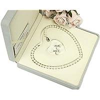 冠婚葬祭用 本真珠ネックレス&イヤリングセットorピアスセット 7.0-7.5mm ハートキーパーボックス付 【品質保証】 (イヤリング)