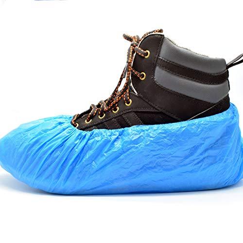 100 x Simply Direct Premium-3,5g Überschuhe Verpackt in einem wiederverschließbaren Beutel. Starker Boden/Teppich Schuhschutz. Imprägniert. Für mittleren bis starken Gebrauch