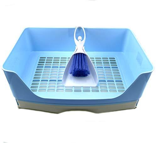 Ali York Rabbit Litter Box, Large Potty Corner Toilet with Drawer, Toilet Box Pet Litter Pan with...