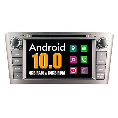 RoverOne Android System Autoradio für Toyota Avensis T25 2003-2008 mit Multimedia DVD Stereo GPS Navigationsradio Bluetooth USB Mirror Link