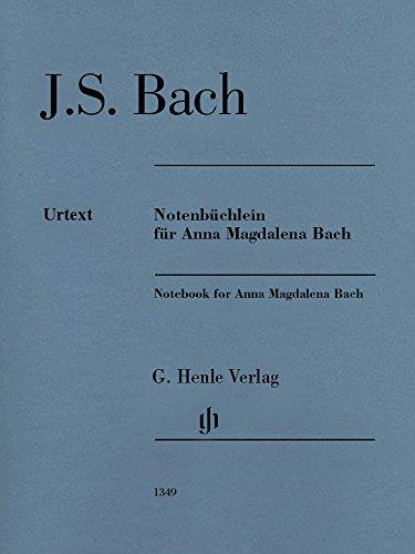 Notenbüchlein für Anna Magdalena Bach 1725; Ausgabe ohne Fingersätze