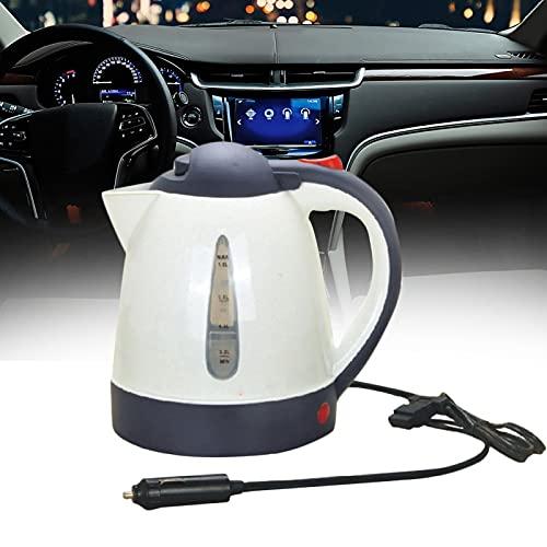 Yius Hervidor eléctrico para automóvil, 24 V 1 L Encendedor de Cigarrillos...