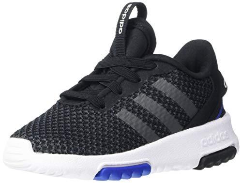adidas Kids Racer TR 2.0 Running Shoe, Core Black/Grey Six, 10 US Unisex Toddler