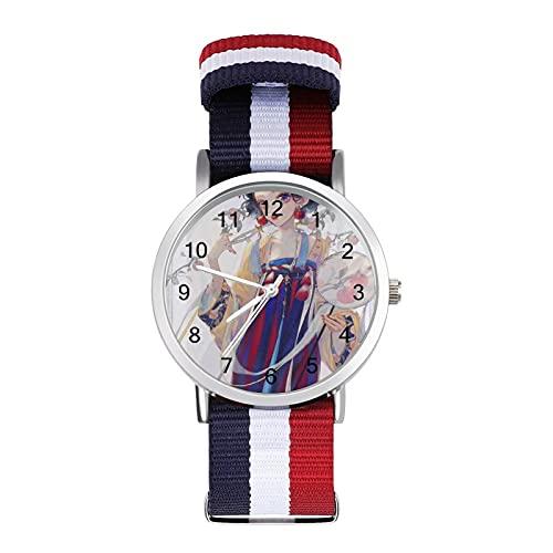 Los relojes Snow White Seven Enanos son impermeables, versátiles, informales, estudiantes, hombres, mujeres, deportes, moda y temperamento simple anime dibujos animados