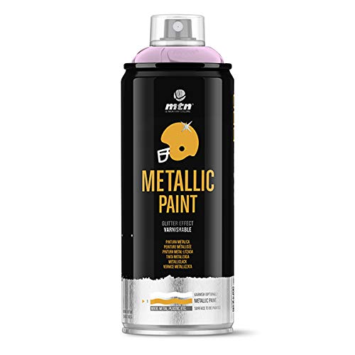 Montana Colors MTN PRO Metalizado Oro Rosado, Spray, Oro Rosa, 400 ml