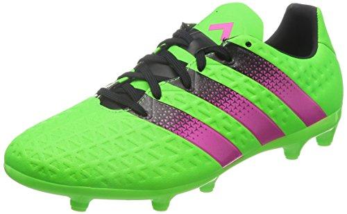 adidas Herren Ace 16.3 FG/AG AF5145 Fußballschuhe, Grün Pink Schwarz Versol Rosimp Negbas, 40 2/3 EU