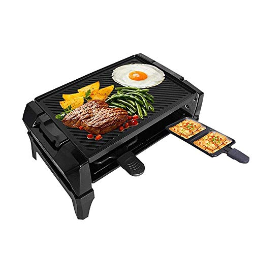 Fantastic Prices! NILINMA Smoke-free Korean-style multi-function barbecue -Smoke-Less Infrared Grill, Indoor Grill, Heating Electric Tabletop Grill