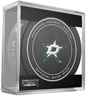 2014 NHL Stanley Cup Playoffs Dallas Stars Hockey Game Puck in Acrylic Cube