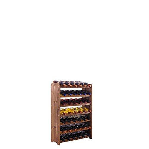 """Scaffalatura """"OptiPlus"""" in legno di pino, colore: marrone"""