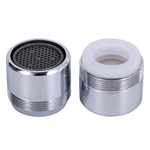 2 Pack 1.5 GPM Sink Faucet Aerator, Male and Female Dual...
