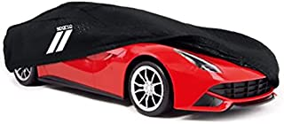 Sparco Car Cover XXL2 , 533 x 178 x 119 cm , Black
