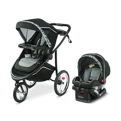 Graco Modes Jogger 2.0 Travel System | Includes Jogging Stroller and SnugRide SnugLock 35 LX Infant Car Seat, Zion