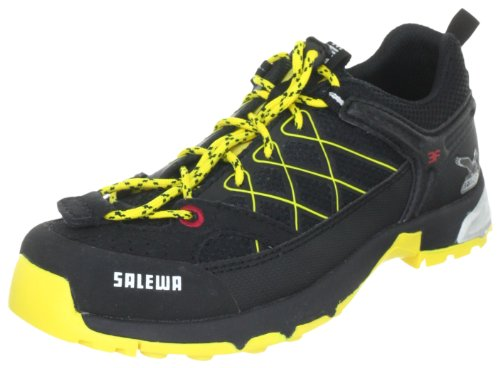 Salewa Junior Firetail 00-0000064002, Unisex-Kinder Trekking- & Wanderschuhe, Schwarz (Black/Cornflower 920), EU 28