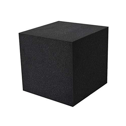 Fei-1 Paneles acústicos cuadrados negros de algodón absorbente de...