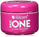 Silcare Gel Base One Thick Clear - Esmalte de uñas (30 g)