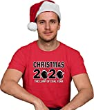 Go All Out X-Large Red Adult Christmas 2020 The Lump of Coal Year Funny T-Shirt