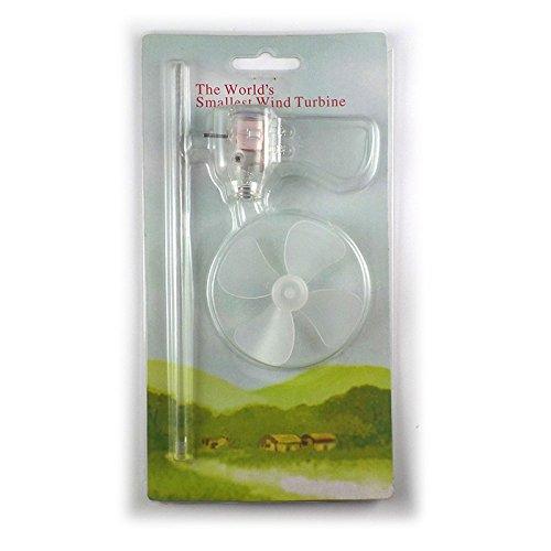 Lisanl Kleinste Mini Windturbinen Generator LED Lehrwerkzeug Mustermodell Hot
