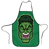 Marvel Hulk - Grembiule da cucina regolabile per uomo e donna