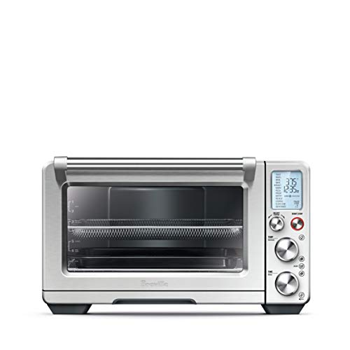 Breville BOV900BSS Smart Oven Air Convection and Air Fry Countertop Oven, Brushed Stainless Steel