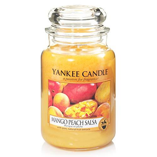 Yankee Candle Candela Grande Vaso, Mango Peach Salsa
