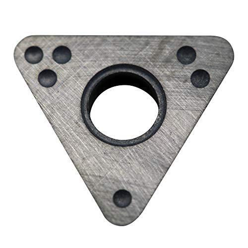 Shark 408-6 Extra Life – Superior Grade .048 Radius Positive Rake Carbide Bits for Bench & On-The-Car- Brake Lathes. Accu-Turn, Ammco, FMC, John Bean, Barrett, Snap-On, Ranger, RELS