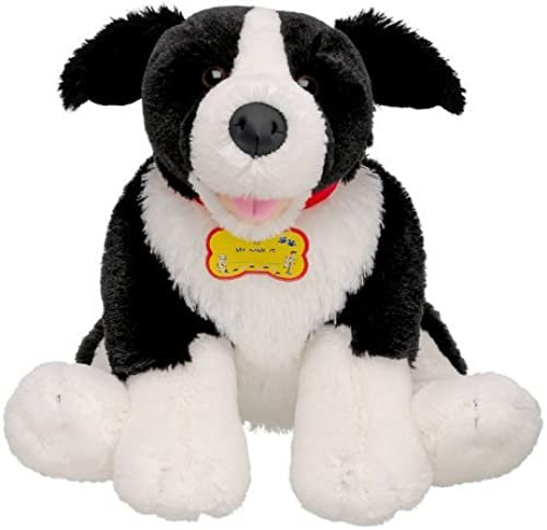 Build-a-Bear Workshop Stuffed Animal Border Collie Dog by Build A Bear