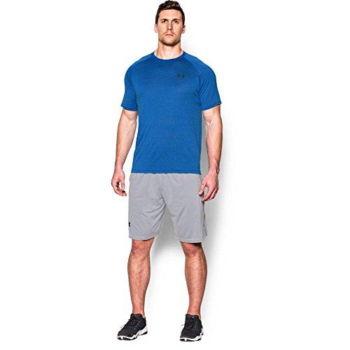 Under Armour UA Tech SS tee-fsh//Sty manica corta Forest Green/White Large