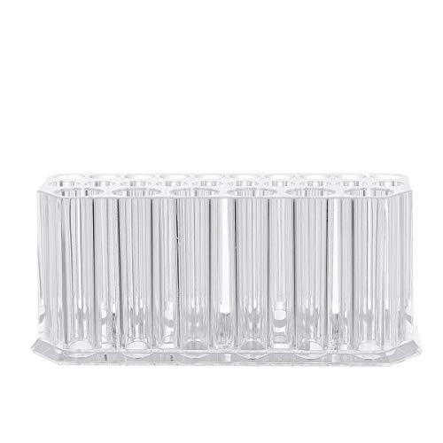 Mobestech Acrylic 26 Slots Eyeliner Lip Liner Holder Makeup Brush Organizer Display Case