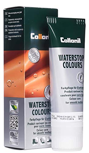 Collonil Waterstop Colours Schuhcreme dunkelgrau, 75 ml