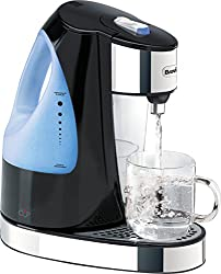 Boils a cup of water in under 50 seconds, ideal for busy families 1.5 Litre tank holds enough water for 5-7 cups; ideal for instant coffee, tea, hot chocolate, noodles and more Push-button lid release makes filling easy; fill at the tap, just like a ...
