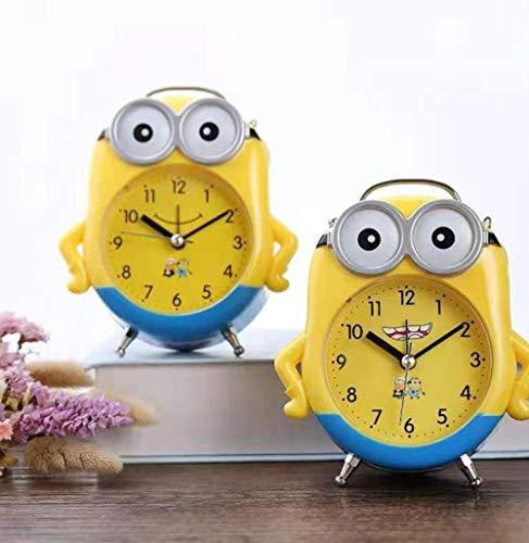 hlyhly digitaler wecker digital wecker Alarm Clock Clocks Alarm Clock Wakes up Popular New Home Study Room digital Alarm Clock-Minions_See Description for Specifications