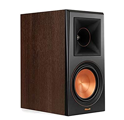 Klipsch RP-600M loudspeaker 100 W Brown Wired - Speakers (Wired, 100 W, 45-25000 Hz, 8 ?, Brown) by Klipsch