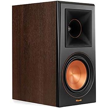 Klipsch RP-600M Bookshelf Speakers (Pair) (Walnut)
